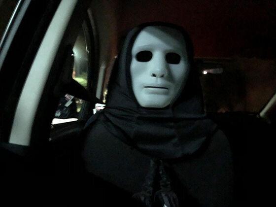 Foto Unik Taksi Online 14