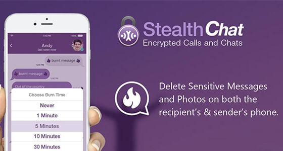 StealthChat: Private Messaging