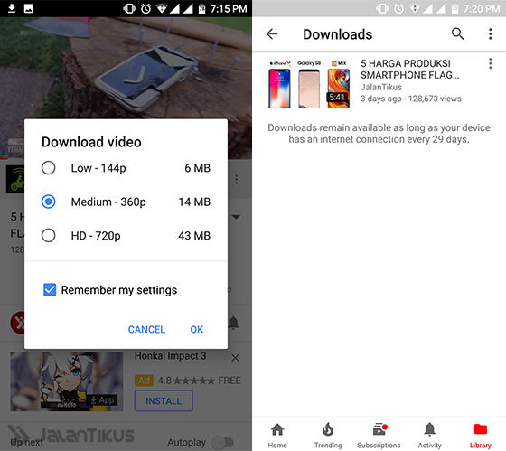 Cara Download Video Youtube Android 2