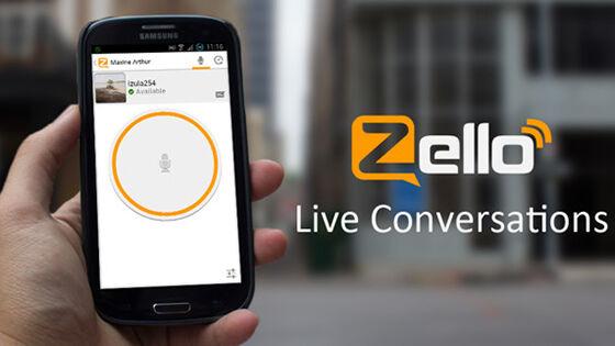 Zello Aplikasi Bencana Alam