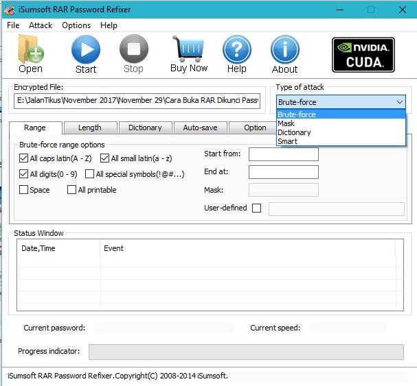 Cara Hack Password File Rar 3