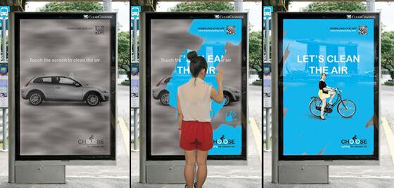 Iklan Menakjubkan Di Tempat Umum 2 3