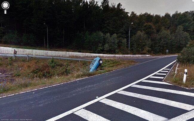 Foto Tak Terduga Google Street 2