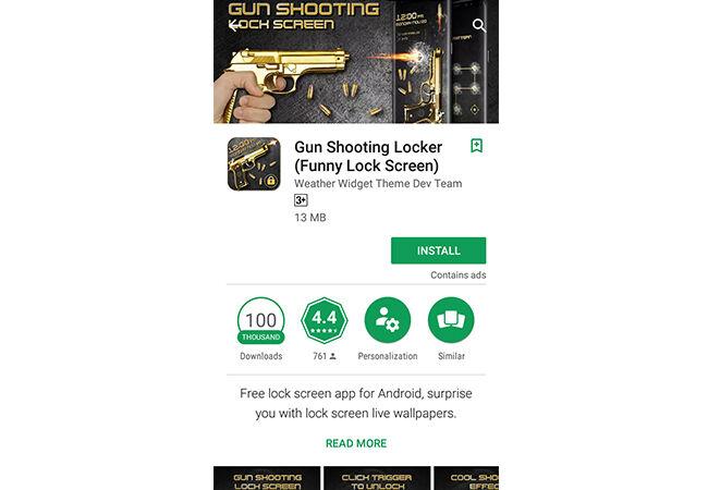 Cara Buka Kunci Layar Android Pakai Pistol 1