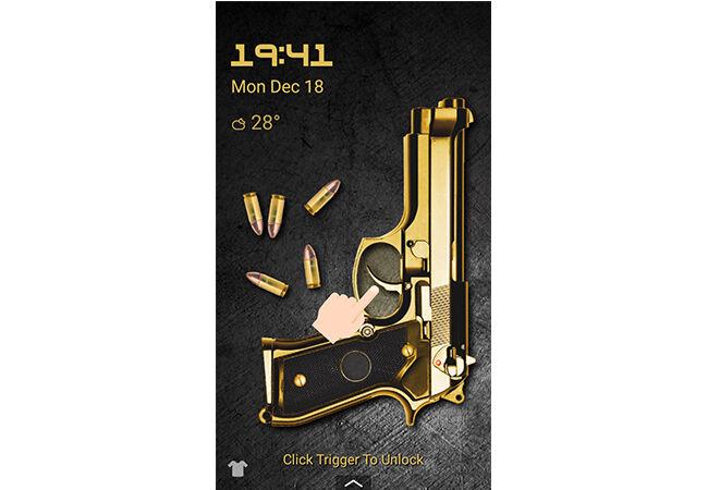 Cara Buka Kunci Layar Android Pakai Pistol 3