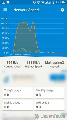 Cara Cek Kecepatan Internet Di Android 2