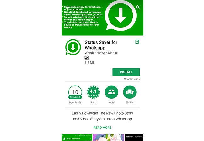 Cara Simpan Status Whatsapp Tanpa Screenshot 1