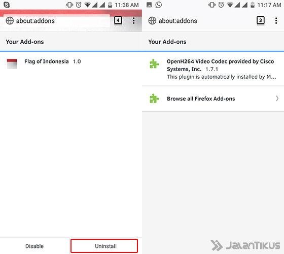 Cara Mengubah Tampilan Browser Android 5