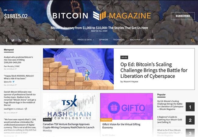 Situs Wajib Pengguna Bitcoin 3