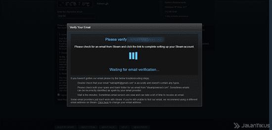 Cara Membuat Akun Steam Website 3