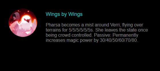 Skill Pharsa Mobile Legends 2