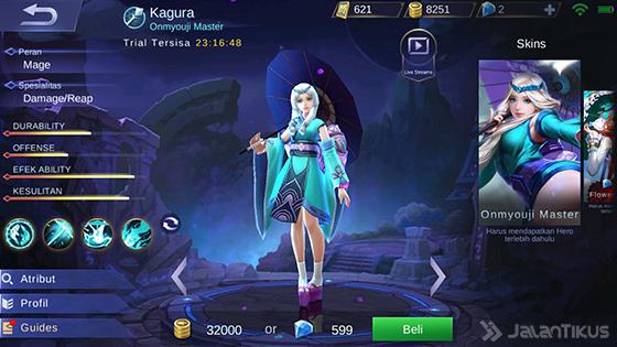 Hero Guide Kagura Mobile Legends