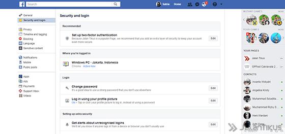 Cara Logout Facebook 6