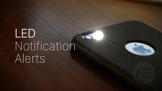 Cara Hack Led Flash Smartphone 4