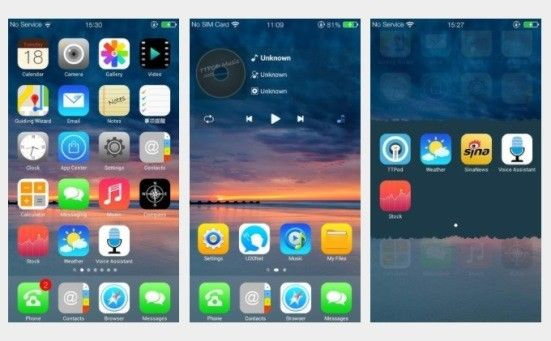 Launcher Ios Di Android 1