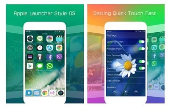 Launcher Ios Di Android 4