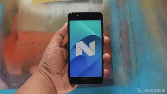 Nougat Asus Zenfone 4 Selfie Lite