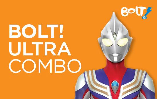 Paket Internet Bolt Ultra Combo