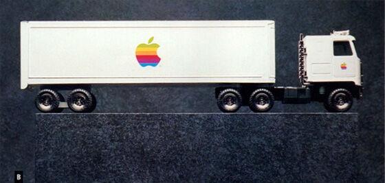 Mainan Truk Apple