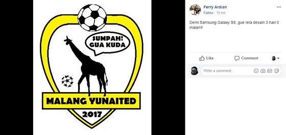 Lelucon Logo Madura United 6