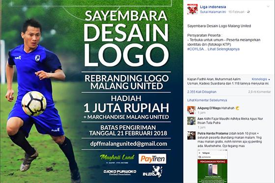 Sayembara Logo Malang United