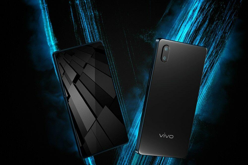 Vivo Apex Fullview Smartphone Pertama Fingerprint Layar 2ok 36045