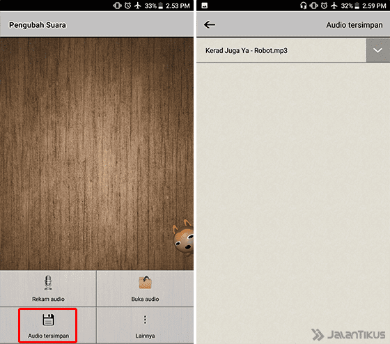 Cara Mengubah Suara Di Android 5a Eba44