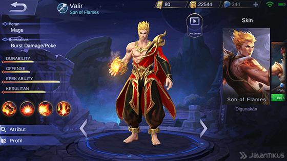 Update Mobile Legends 1 2 56 Valir 9dcac