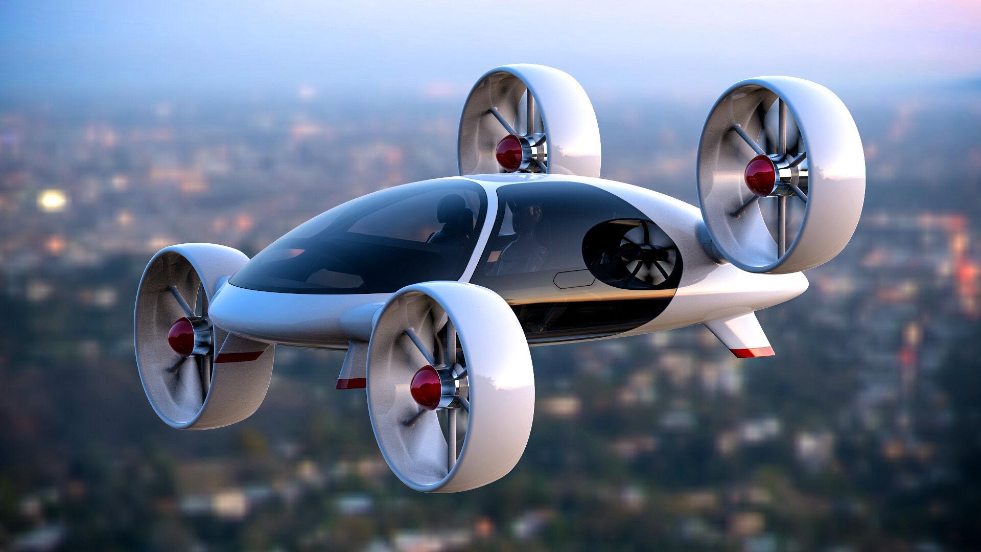 Flying Car Bartini 3 F4484