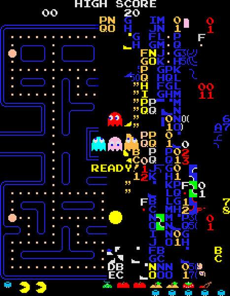 Pac Man Kill Screen 51d1b
