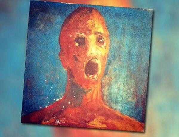 Lukisan Berhantu The Anguished Man A 9cb26