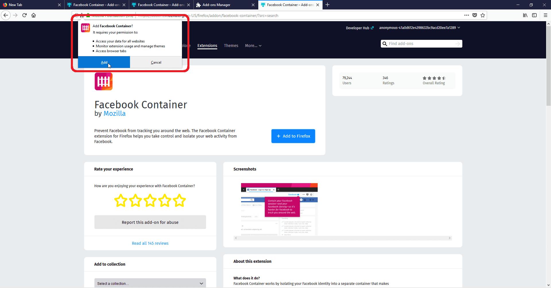 Mencegah Facebook Memata Matai Akun 5 A8314