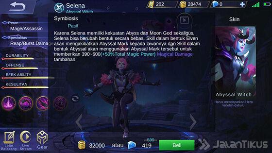 Selena Mobile Legends Skill Pasif 6bdeb