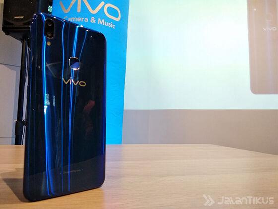 Vivo V9 Cool Blue Limited Edition Back F186b