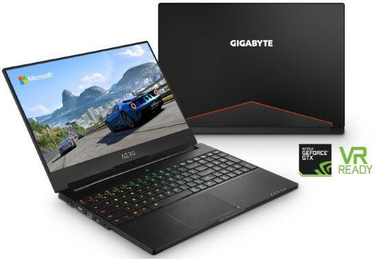 Gigabyte Aero 15xw Intel Coffee Lake 2 92326