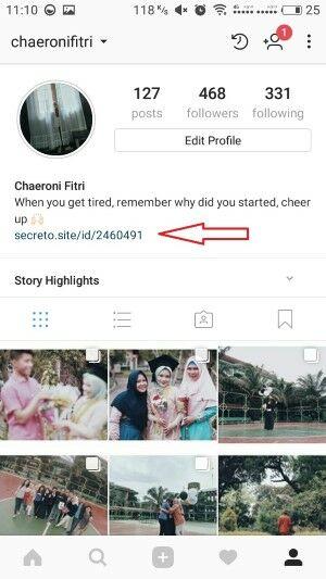 Cara Pasang Secreto Instagram Whatsapp 8 Eefbd