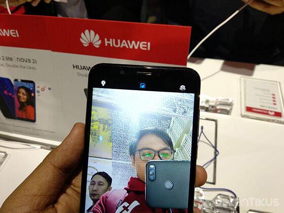 Test Selfie Huawei Nova 2 Lite Ba2b0