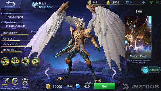 Hero Kaja Mobile Legends 3d9ea