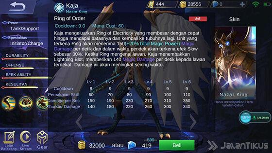 Skill 1 Kaja Mobile Legends A4849