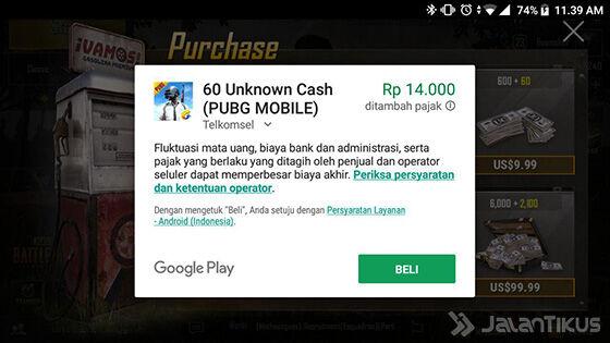 Unknown Cash Pubg Mobile 2f49f