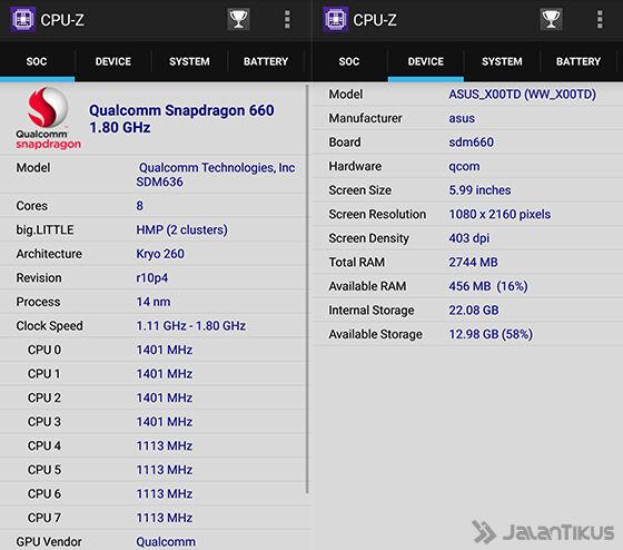 Chipset Asus Zenfone Max Pro M1 A9671