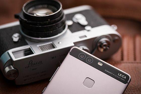 Dual Camera Huawei P9 De43c
