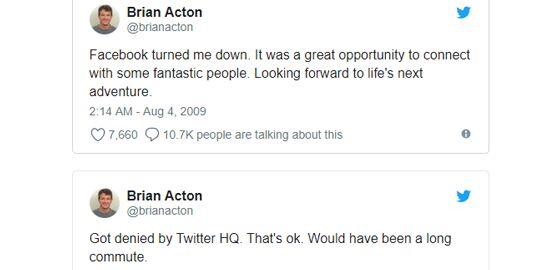 Brian Acton Tweet C6023