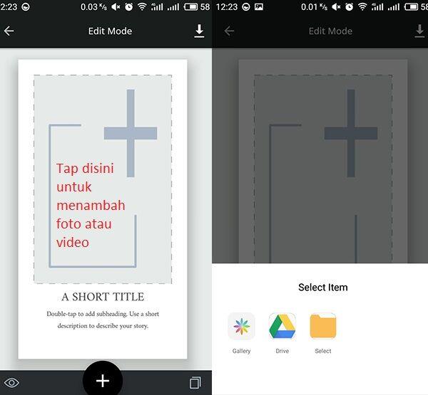 Cara Membuat Instagram Story Kreatif 3 8d88c