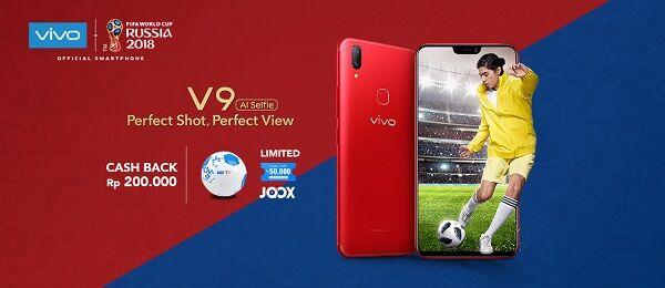 Vivo V9 Smartphone Resmi Piala Dunia 2018 79e3d