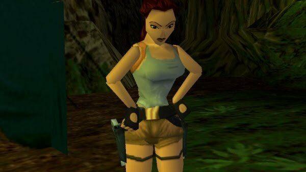Medium Nude Raider Tomb Raider 1996 F5680