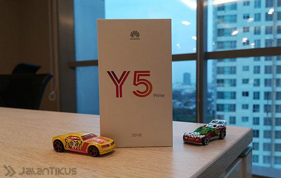 Unboxing Huawei Y5 Prime 2018 C4b40