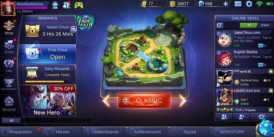 Bayar Pake Pulsa Tri Mobile Legends 2 37511