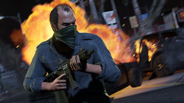Grand Theft Auto V Violence Eec2c