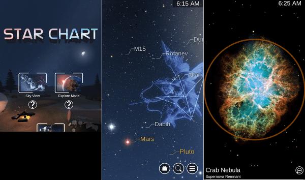 free star charts midnightkitecom - 600×354